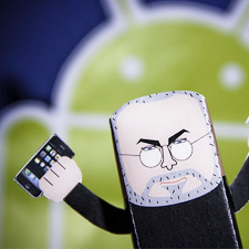 Android iPhone Steve Jobs